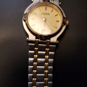 05b6bfb68bf Gucci woman two tone watch great mother s day gift